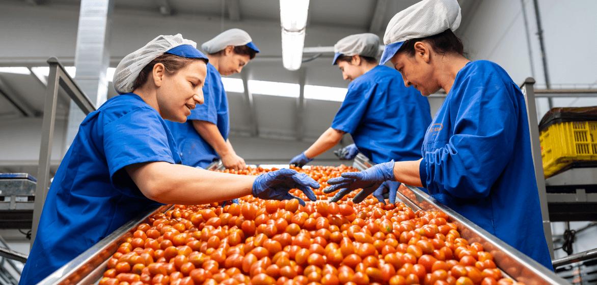 Invierte en ti, sector agroalimentario
