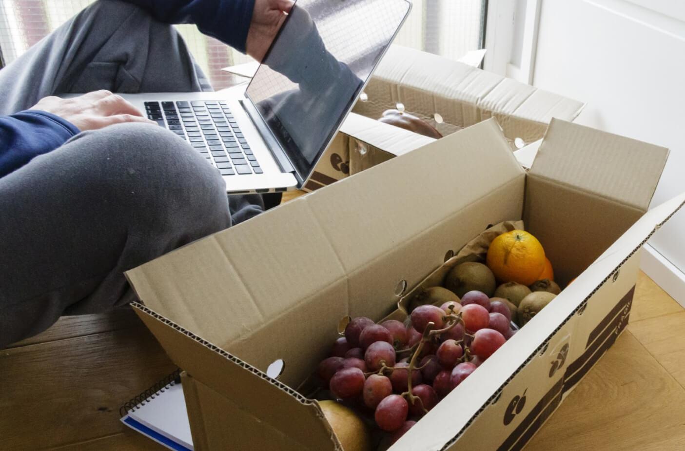 Frutas y hortalizas online: la opción del futuro